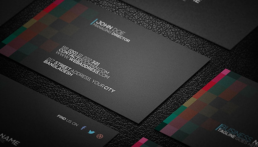 Giveaway: 8 Free Business Card Templates | Full Bundle
