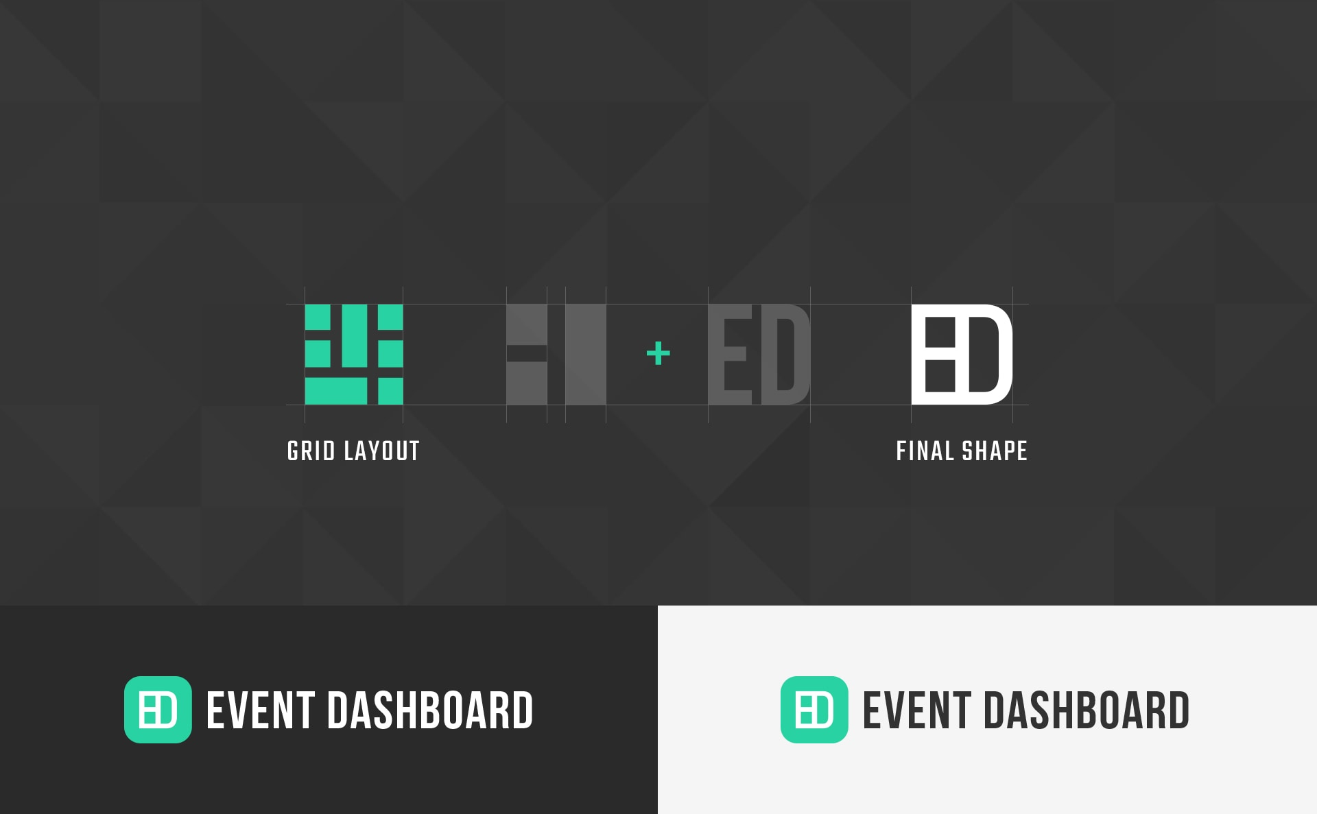 Event Dashboard creative graphic design